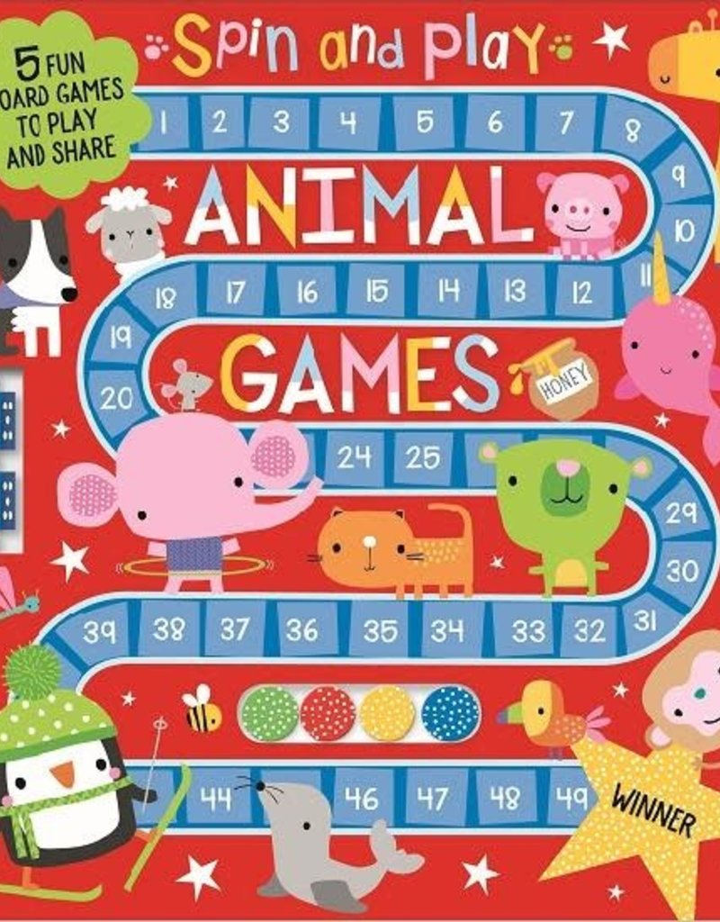 Make Believe Ideas Spin and Play Animal Games