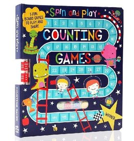 Make Believe Ideas Spin and Play Counting Games