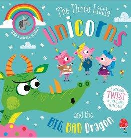 Make Believe Ideas Three Little Unicorns and the Big Bad Dragon