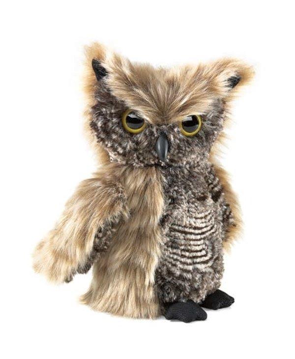 Screech Owl Puppet