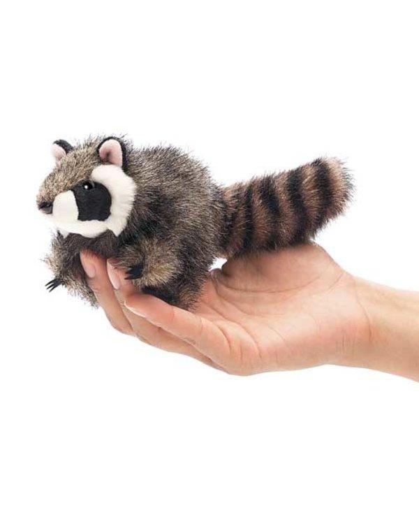 Mini Raccoon Finger Puppet
