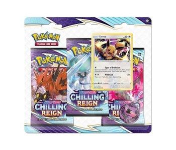 Pokemon Chilling Reign 3 Pack Blister