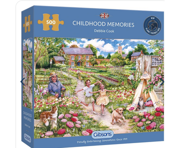 Childhood Memories 500 piece puzzle