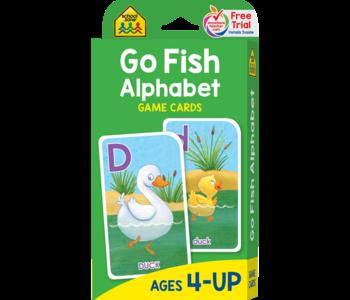 Go Fish Alphabet Flash Cards