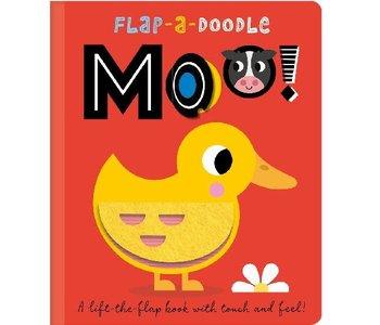 Flap a Doodle Moo Book