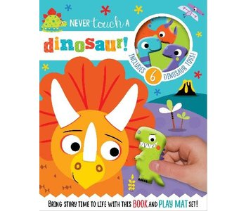 Never Touch a Dinosaur! Read and Play Board Book