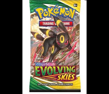 Pokemon Swsh7  Evolving Skies Booster Pack