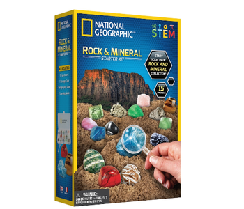 National Geographic Rock & Mineral Starter Kit