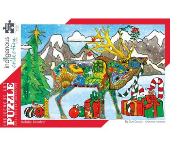 Holiday Reindeer 1000 puzzle