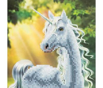 Crystal Art Card Kit Unicorn