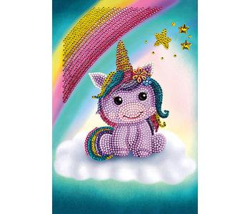 Crystal Art Notebook, Unicorn Smile