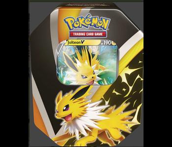 Pokemon V Tin Eevee Evolutions Jolteon V