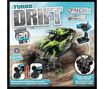 Turbo Drift RC Vehicle