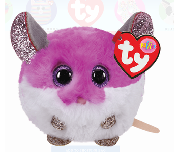 Colby Purple Mouse Ty Puffin