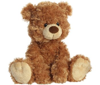 "Aurora Mookie Tan 12"" Teddy Bear"