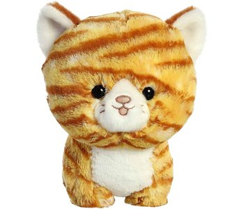 "Aurora Teddy Pets - Orange Tabby Cat 7"""