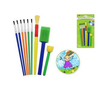 Little Artist Paint Brush Medley