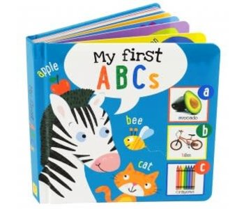 MY FIRST ABCS BOARD BOOK