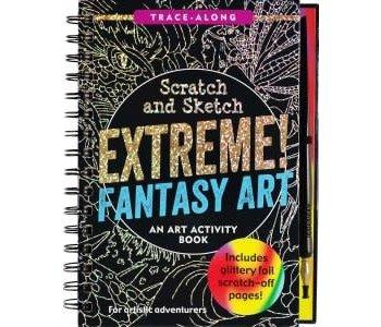 SCRATCH & SKETCH EXTREME FANTASY ART