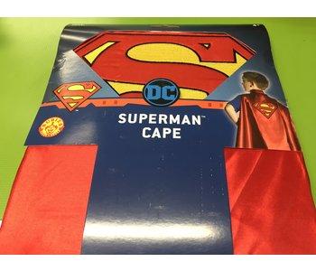 Superman Superhero Capa with Embroidered Logo