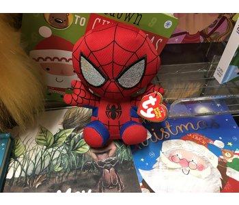Spider-Man small Ty beanie