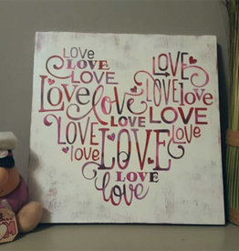 Dianne F Sign Making Love Heart Thurs Jan 30 at 6:00 pm to 8:30 pm