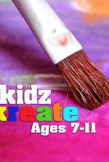 Diane W Art Class: Kidz Kreate - Kids Painting Class - Saturday Jan 25 10:30-12noon
