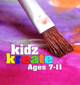 Diane W Kidz Kreate - Open Studio of Kreativity - Sat Jan 25 10:30-12noon