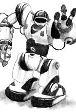 Nick W Art Class: Youth Drawing Classic Robots Sat Feb 8 @ 3pm