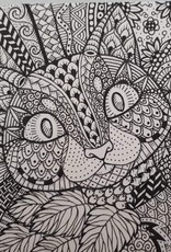 Mary M Pen & Ink Doodle Love Thurs Jan 23, 30 & Feb 6, 13 @ 6 pm to 7:30 pm
