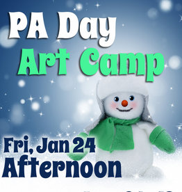 FTLA Jan 24 PA 1/2 Day Art Camp (Afternoon) 1-3:30 pm
