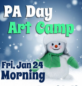 FTLA Jan 24 PA 1/2 Day Art Camp (Morning) 9-12noon