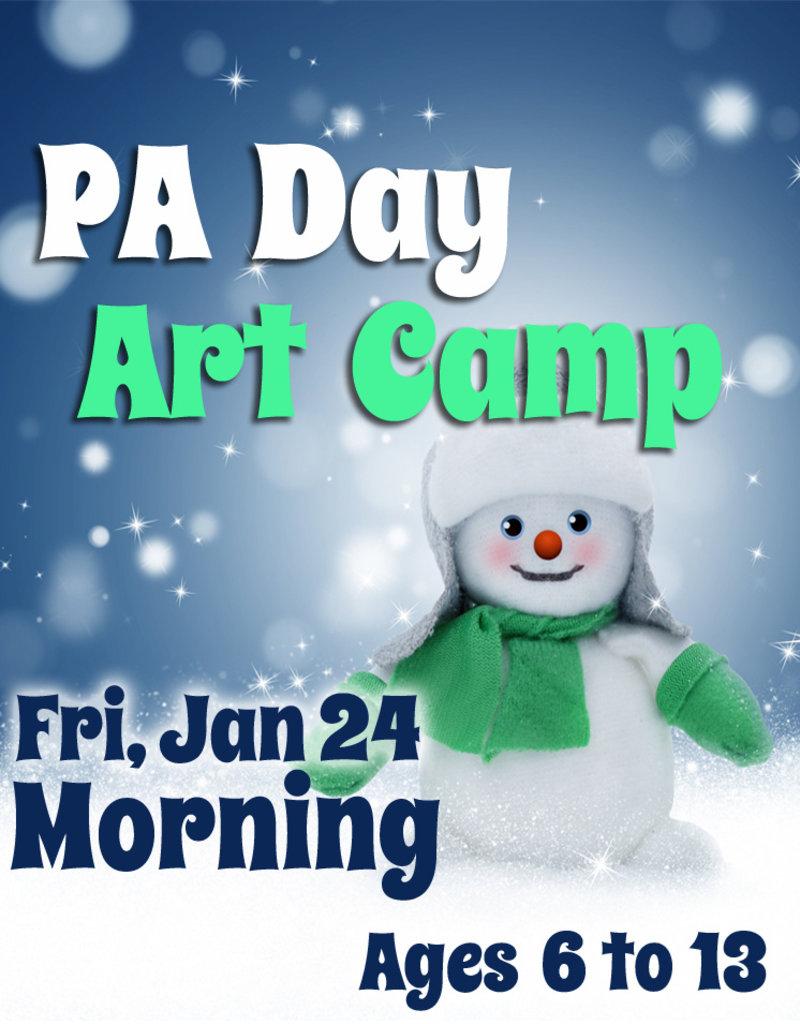 FTLA Jan 24 PA 1/2 Day Art Camps (Morning)