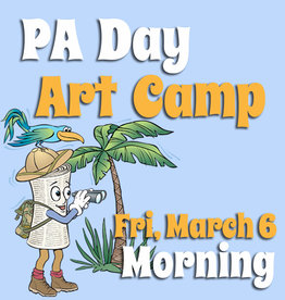 FTLA March 6 PA 1/2 Day Art Camp (Morning) 9-12noon