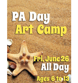 FTLA June 26 PA All Day Art Camp - 9-3:30pm