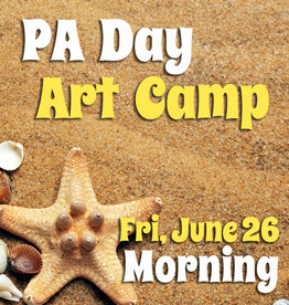FTLA June 26 PA 1/2 Day Art Camp (Morning) 9-12noon