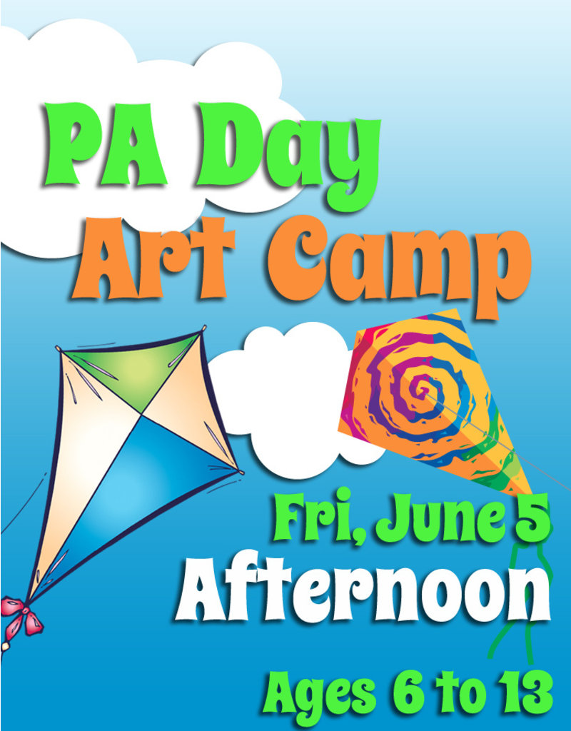 FTLA June 5 PA 1/2 Day Art Camps (Afternoon)