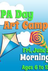 FTLA June 5PA 1/2 Day Art Camp (Morning) 9-12noon