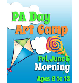 FTLA June 5 PA 1/2 Day Art Camp (Morning) 9-12noon