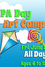 FTLA June 5 PA All Day Art Camp - 9-3:30pm
