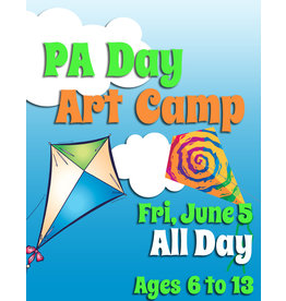 FTLA June 5 PA All Day Art Camp - 9-3:30pm
