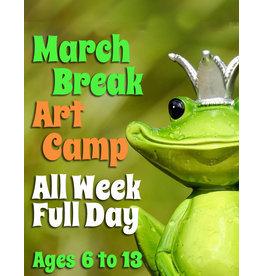 FTLA March Break Art Camp (All Day) 9-3:30pm