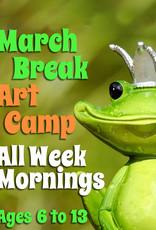 FTLA March Break all Week Art Camps (Mornings) 9:00-12noon