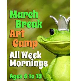 FTLA March Break Art Camp (AM) 9:00-12noon