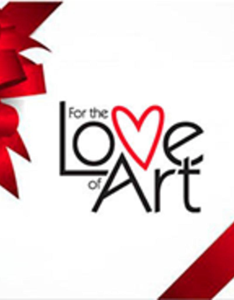 FTLA Gift Certificate For the Love of Art ($50)