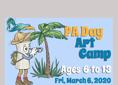 PA Day - March 6 Art Camp