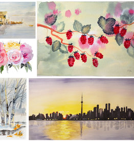Tamara S Watercolour Level 2   Wed Feb 12 - Wed Mar 4 1-3 pm