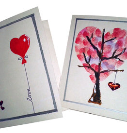 Andreea N Valentine's  Greeting Cards  Sat Feb 1