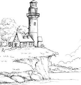 Nick W Lighthouse Drawing Sat Feb 29