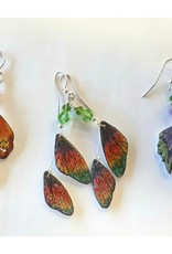 Mary M Jewellery Art Class Butterfly Wing Earrings Thurs Feb 27 6-7pm